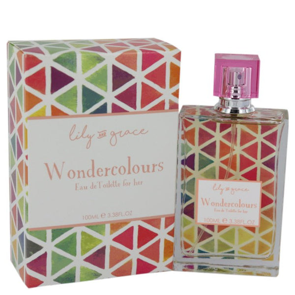 Eau De Toilette Spray 3.38 oz, Lily and Grace Wondercolours by Lily and Grace