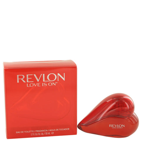 Eau De Toilette Spray 1.7 oz, Love is On by Revlon
