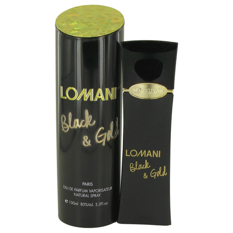 Eau De Parfum Spray 3.4 oz, Lomani Black & Gold by Lomani