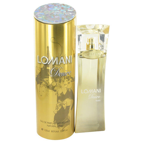 Lomani Desire by Lomani for Women. Eau De Parfum Spray 3.4 oz