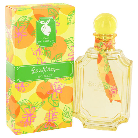 Eau De Parfum Spray 3.4 oz, Lilly Pulitzer Squeeze by Lilly Pulitzer