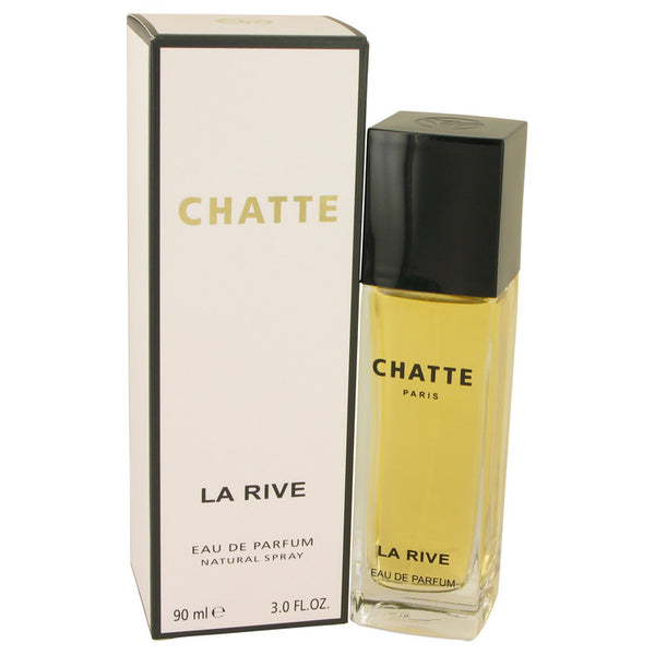 Eau De Parfum Spray 3 oz, La Rive Chatte by La Rive