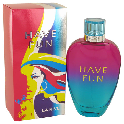 Eau De Parfum Spray 3 oz, La Rive Have Fun by La Rive