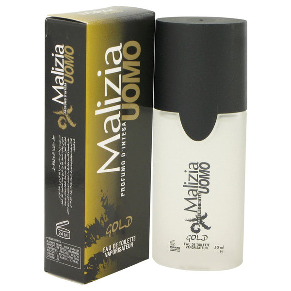 Eau De Toilette Spray 1.7 oz, Malizia Uomo Gold by Vetyver