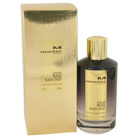 Eau De Parfum Spray (Unisex) 4 oz, Mancera Aoud Black Candy by Mancera
