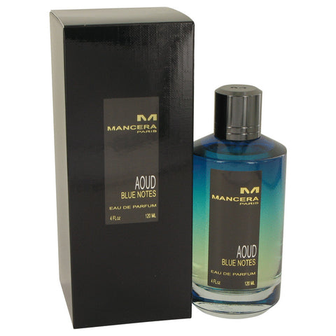 Eau De Parfum Spray (Unisex) 4 oz, Mancera Aoud Blue Notes by Mancera