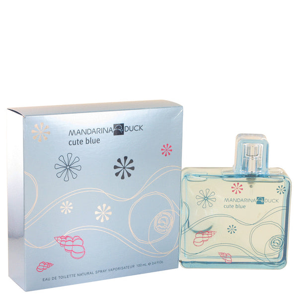 Eau De Toilette Spray 3.4 oz, Mandarina Duck Cute Blue by Mandarina Duck
