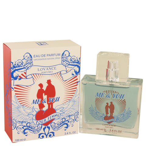 Eau De Parfum Spray 3.3 oz, Me & You by Lovance