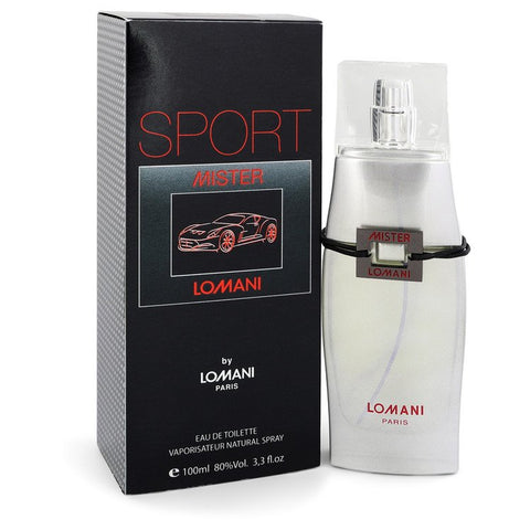 Mister Lomani Sport by Lomani for Men. Eau De Toilette Spray 3.3 oz