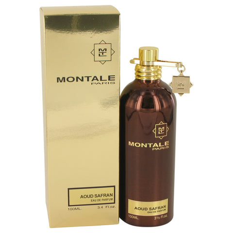 Eau De Parfum Spray 3.4 oz, Montale Paris Aoud Safran by Montale