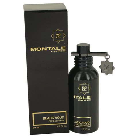 Eau De Parfum Spray (Unisex) 1.7 oz, Montale Black Aoud by Montale