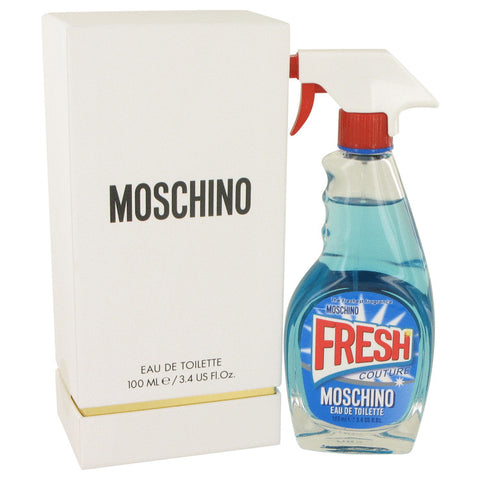 Eau De Toilette Spray 3.4 oz, Moschino Fresh Couture by Moschino