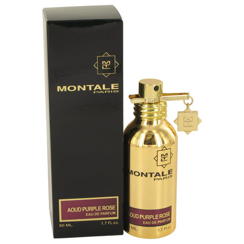 Eau De Parfum Spray (Unisex) 1.7 oz, Montale Aoud Purple Rose by Montale