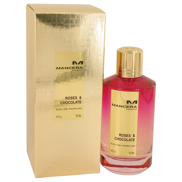 Eau De Parfum Spray (Unisex) 4 oz, Mancera Roses & Chocolate by Mancera
