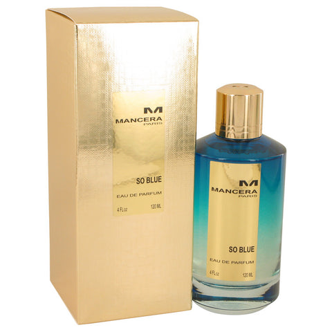 Eau De Parfum Spray (Unisex) 4 oz, Mancera So Blue by Mancera