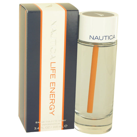 Eau De Toilette Spray 3.4 oz, Nautica Life Energy by Nautica