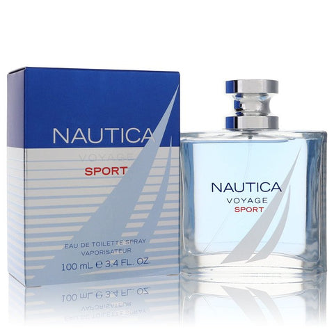 Nautica Voyage Sport by Nautica for Men. Eau De Toilette Spray 3.4 oz