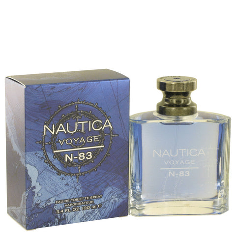 Eau De Toilette Spray 3.4 oz, Nautica Voyage N-83 by Nautica