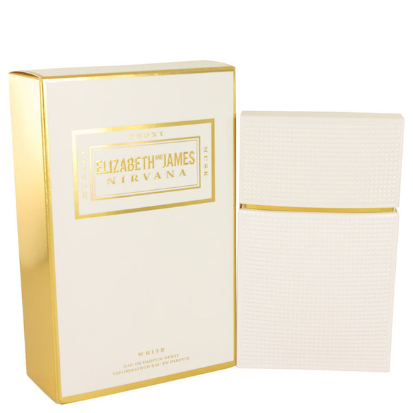 Eau De Parfum Spray 3.4 oz, Nirvana White by Elizabeth and James