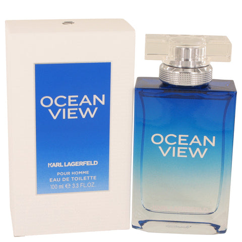 Eau De Toilette Spray 3.3 oz, Ocean View by Karl Lagerfeld
