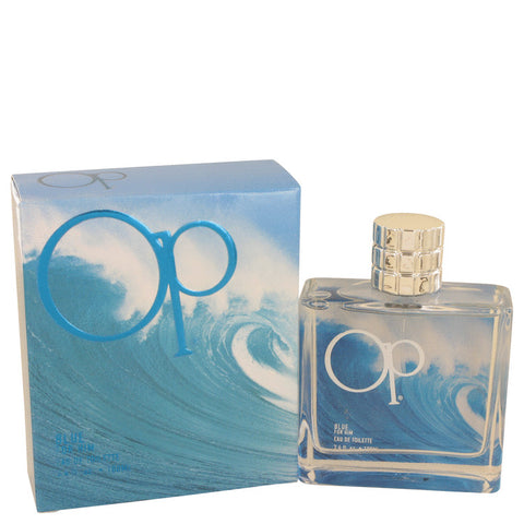 Eau De Toilette Spray 3.4 oz, Ocean Pacific Blue by Ocean Pacific