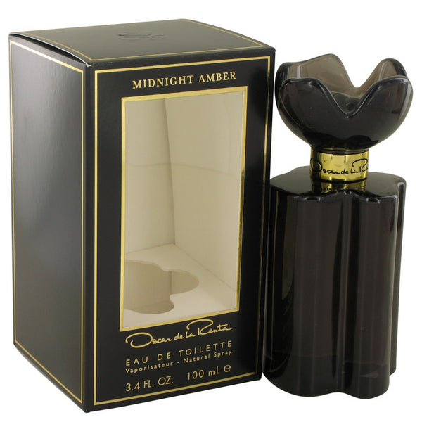 Eau De Toilette Spray 3.4 oz, Oscar Midnight Amber by Oscar de la Renta