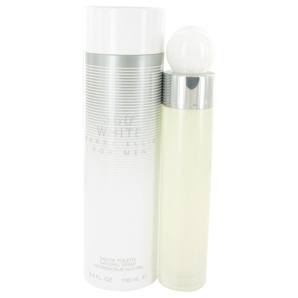 Eau De Toilette Spray 3.4 oz, Perry Ellis 360 White by Perry Ellis