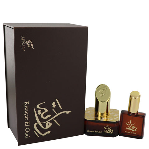 Eau De Parfum Spray + Free .67 oz Travel EDP Spray 1.7 oz, Riwayat El Oud by Afnan