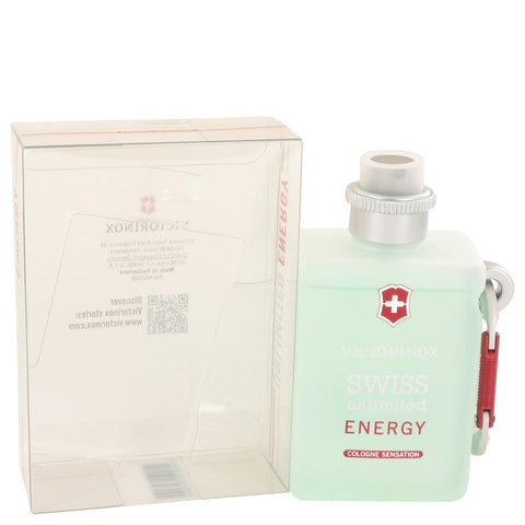 Cologne Spray 5 oz, Swiss Unlimited Energy by Victorinox