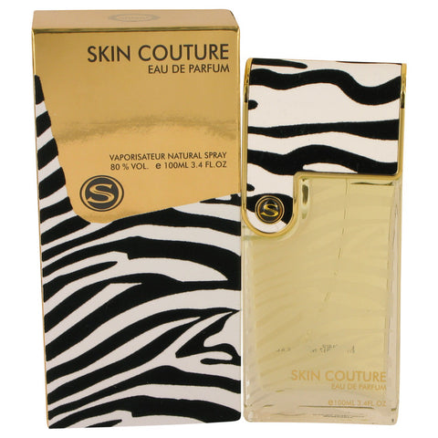 Eau De Parfum Spray 3.4 oz, Armaf Skin Couture Gold by Armaf