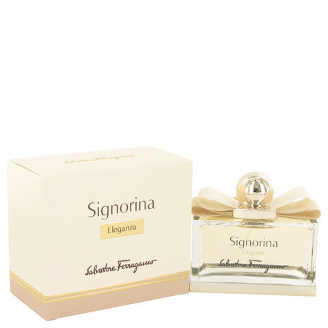 Eau De Parfum Spray 3.4 oz, Signorina Eleganza by Salvatore Ferragamo