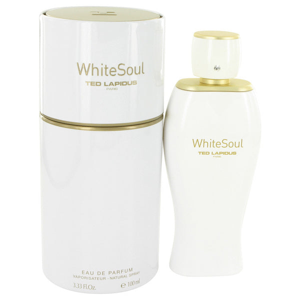 Eau De Parfum Spray 3.4 oz, White Soul by Ted Lapidus