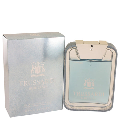 Eau De Toilette Spray 3.4 oz, Trussardi Blue Land by Trussardi