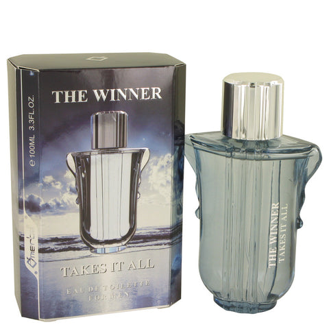 Eau De Toilette Spray 3.3 oz, The Winner Takes it All by La Rive