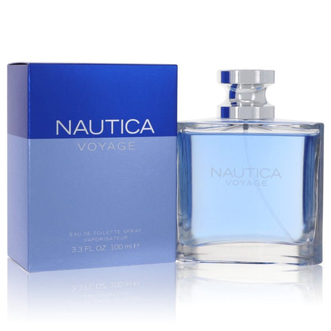 Eau De Toilette Spray 3.4 oz, Nautica Voyage by Nautica