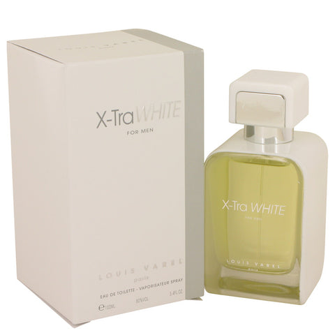 Eau De Toilette Spray 3.4 oz, X-Tra White by Louis Varel