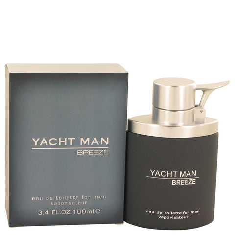 Eau De Toilette Spray 3.4 oz, Yacht Man Breeze by Myrurgia