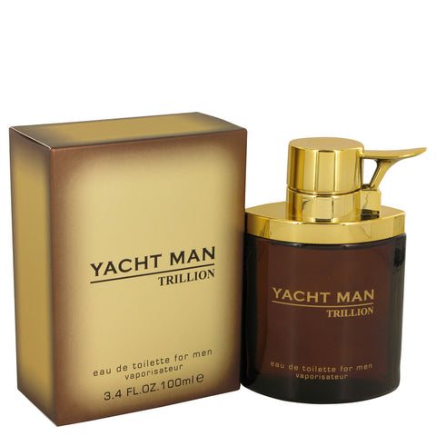 Eau De Toilette Spray 3.4 oz, Yacht Man Trillion by Myrurgia