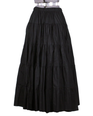 Long Gathered Skirt