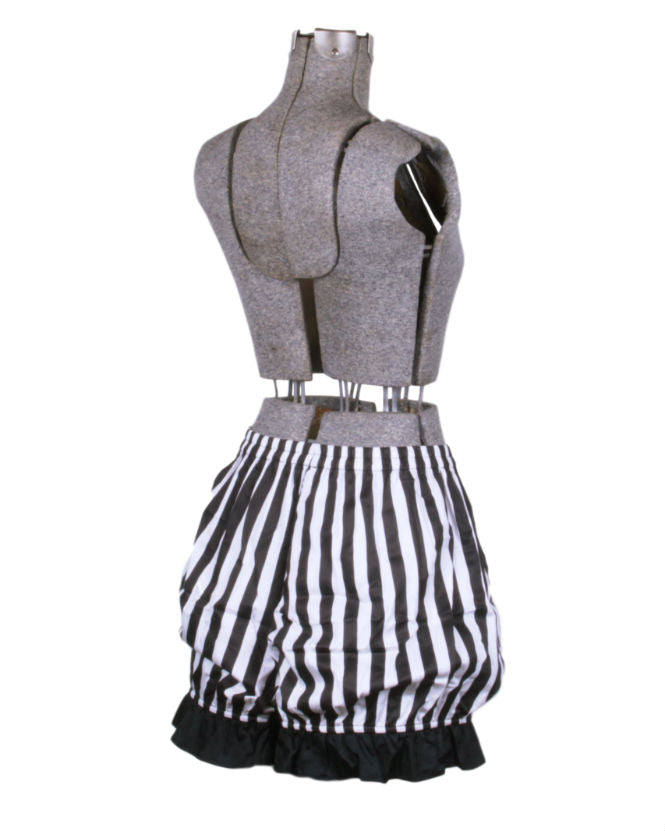 Stripe Steampunk Bloomer Shorts