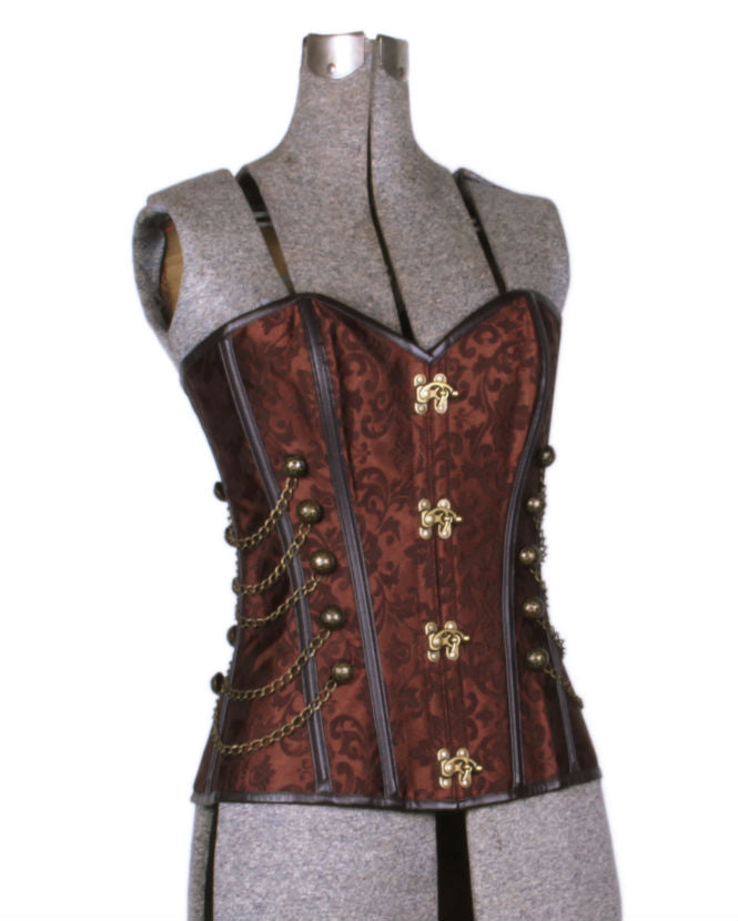 Airship Pirate Elizabeth Brocade Corset