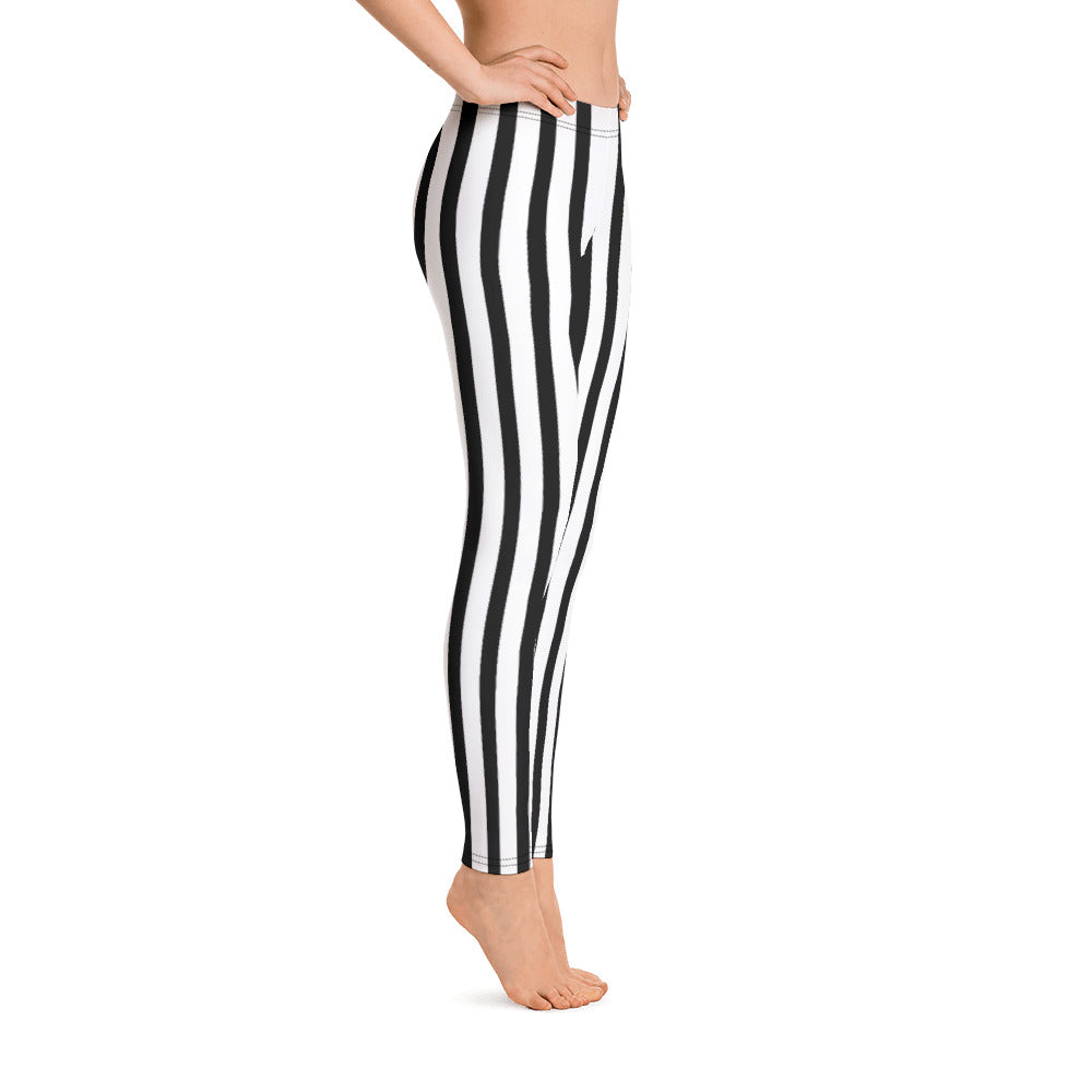 Airship Pirate Striped Leggings