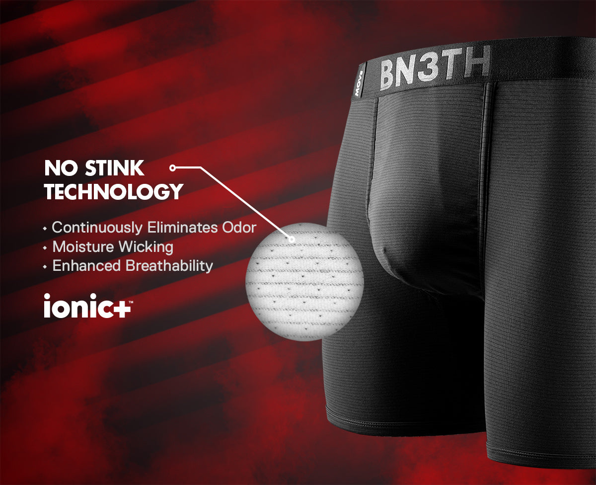IONIC+ Anti-odor silver technology