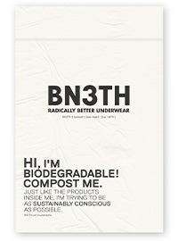 BN3TH - biodegradable bag | sustainable packaging