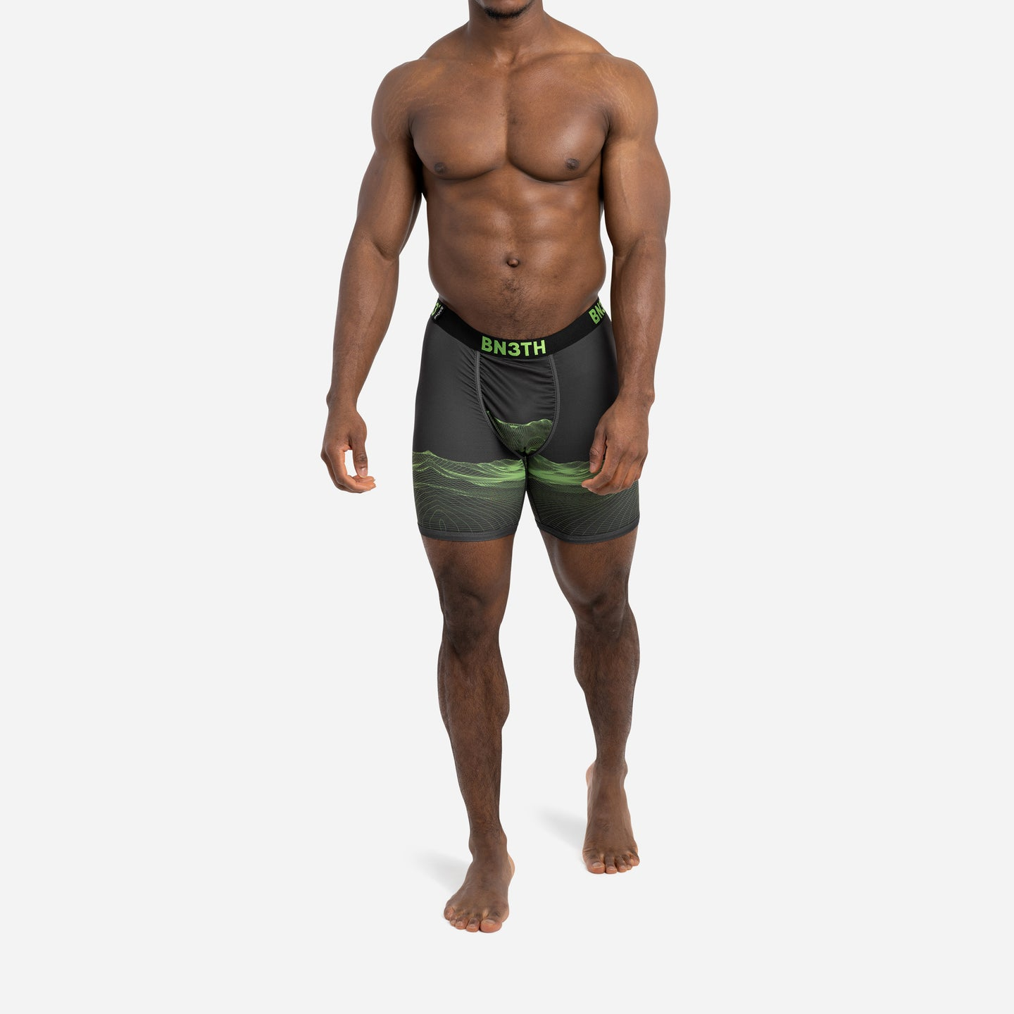 PRO IONIC+™ BOXER BRIEF : MERIDIAN GREEN