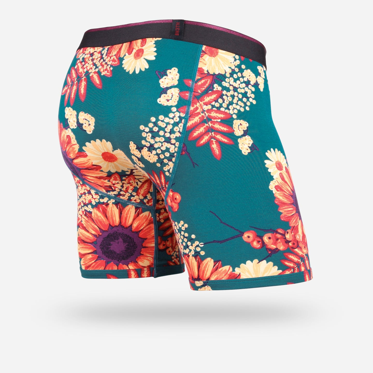 CLASSIC BOXER BRIEF: WILDFLOWERS INK