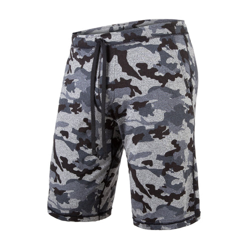 PJ SHORTS: HEATHER CAMO BLACK