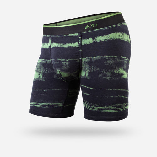 CLASSIC BOXER BRIEF: DISTRIPE GREEN