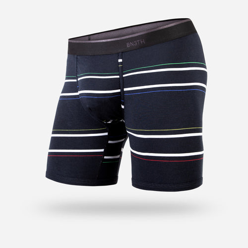 CLASSIC BOXER BRIEF: NICE STRIPE BLACK