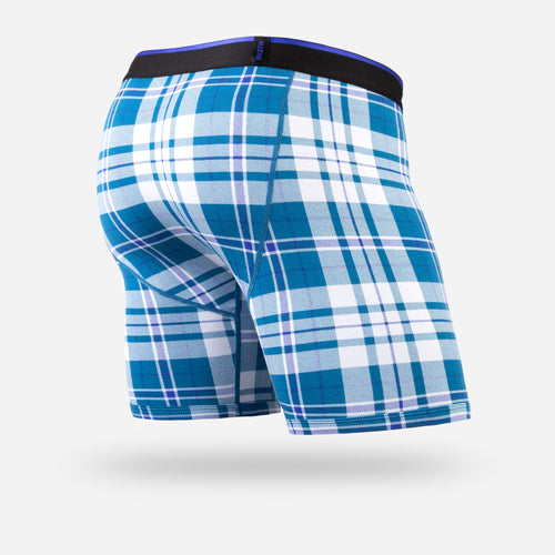 CLASSIC BOXER BRIEF: NO PLAID DAYS BLUE